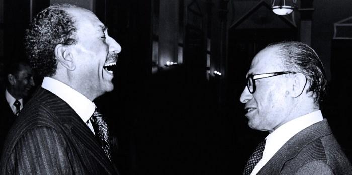 Sadat And Begin - 1979