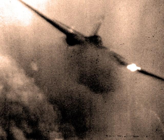 Kamikaze Attack - 1945