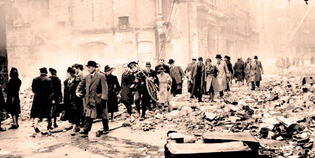 London - May 11, 1941 - the Morning after