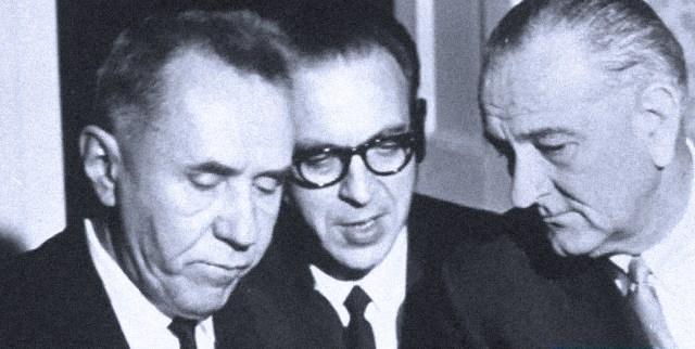 Alexei Kosygin and LBJ - 1967
