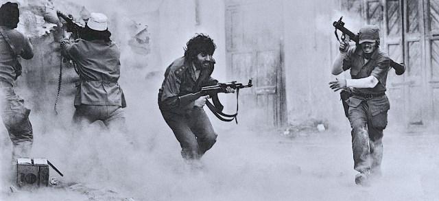 Lebanon Civil War-Beirut - Photo: Catherine Leroy