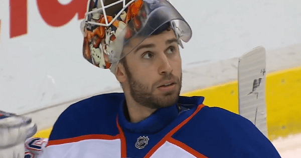 It looks like Cam Talbot could end up back in Alberta… But with the Flames
