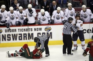Souray fights Weller