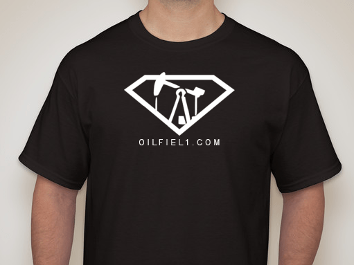 OILFIELD1 SUPERMAN SHIRT BLACK