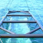 Sub-Mar Mat being deployed