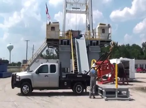 2000 lbs of Hydraulic Lift in Action