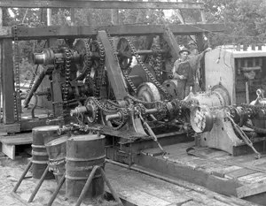 East Texas Gears and chains – 1930s