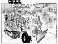 Cartoon In Closing: Texas Roughnecks Freeze Faster
