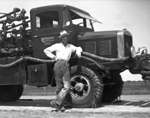 1920s West Texas: One of Halliburton's First Vehicles