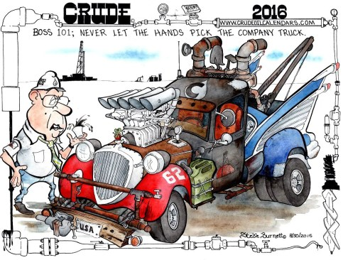 Oilman Cartoon – November/December 2015