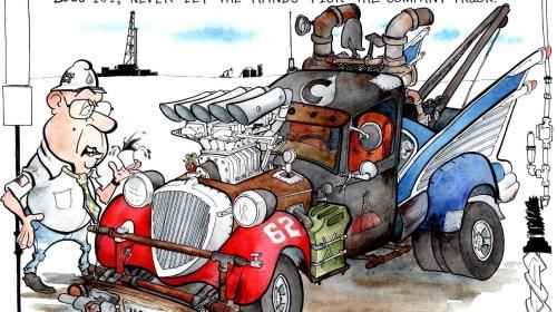 Oilman Cartoon – November/December 2015