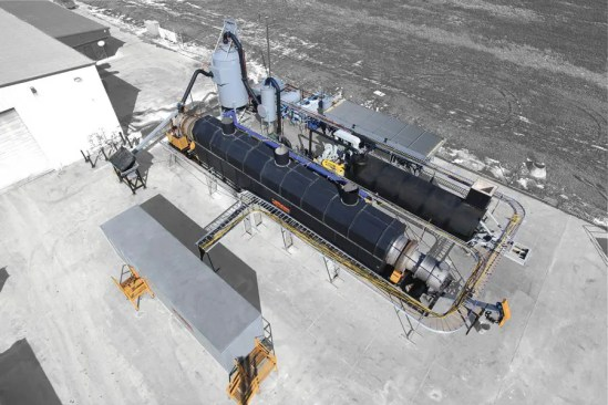 Using Rotary Kilns for Processing Drilling Wastes
