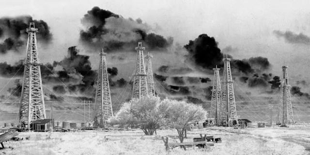 Solarized Effect of the Pierce Junction Oil Field, Houston, TX