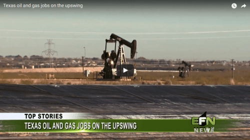 Texas Oil and Gas Jobs on the Upswing
