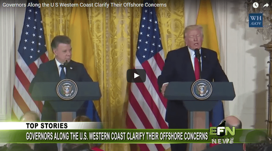 Governors Along the U S Western Coast Clarify Their Offshore Concerns