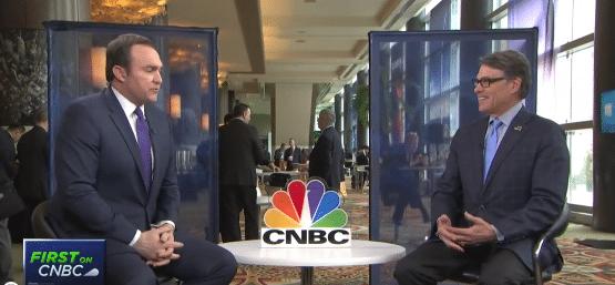 : U.S. Energy Secretary Rick Perry Speaks with CNBC's Brian Sullivan
