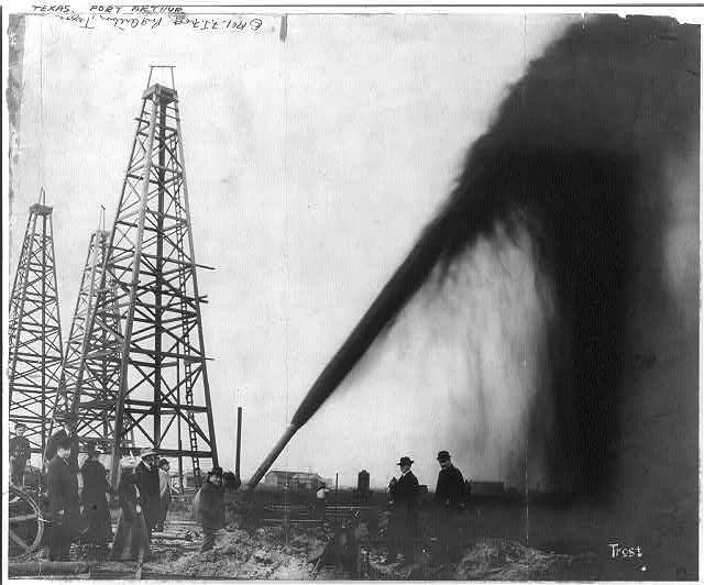 Oil Gusher Port Author Texas