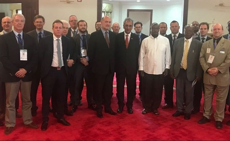 UK Oil and Gas Trade Delegation Meets With Uganda's President