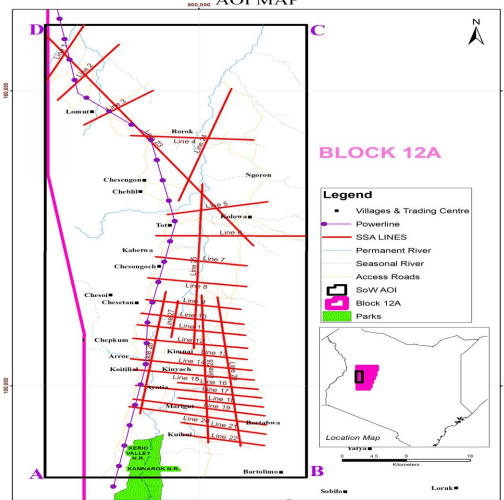 Delonex Energy Completes 2D seismic acquisition in Block 12A