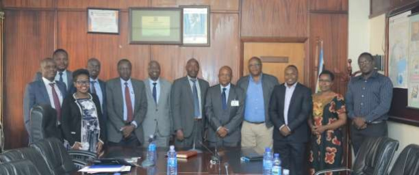 Kenyan Delegation visits Uganda to Benchmark on Establishment of a Petroleum Regulatory Authority