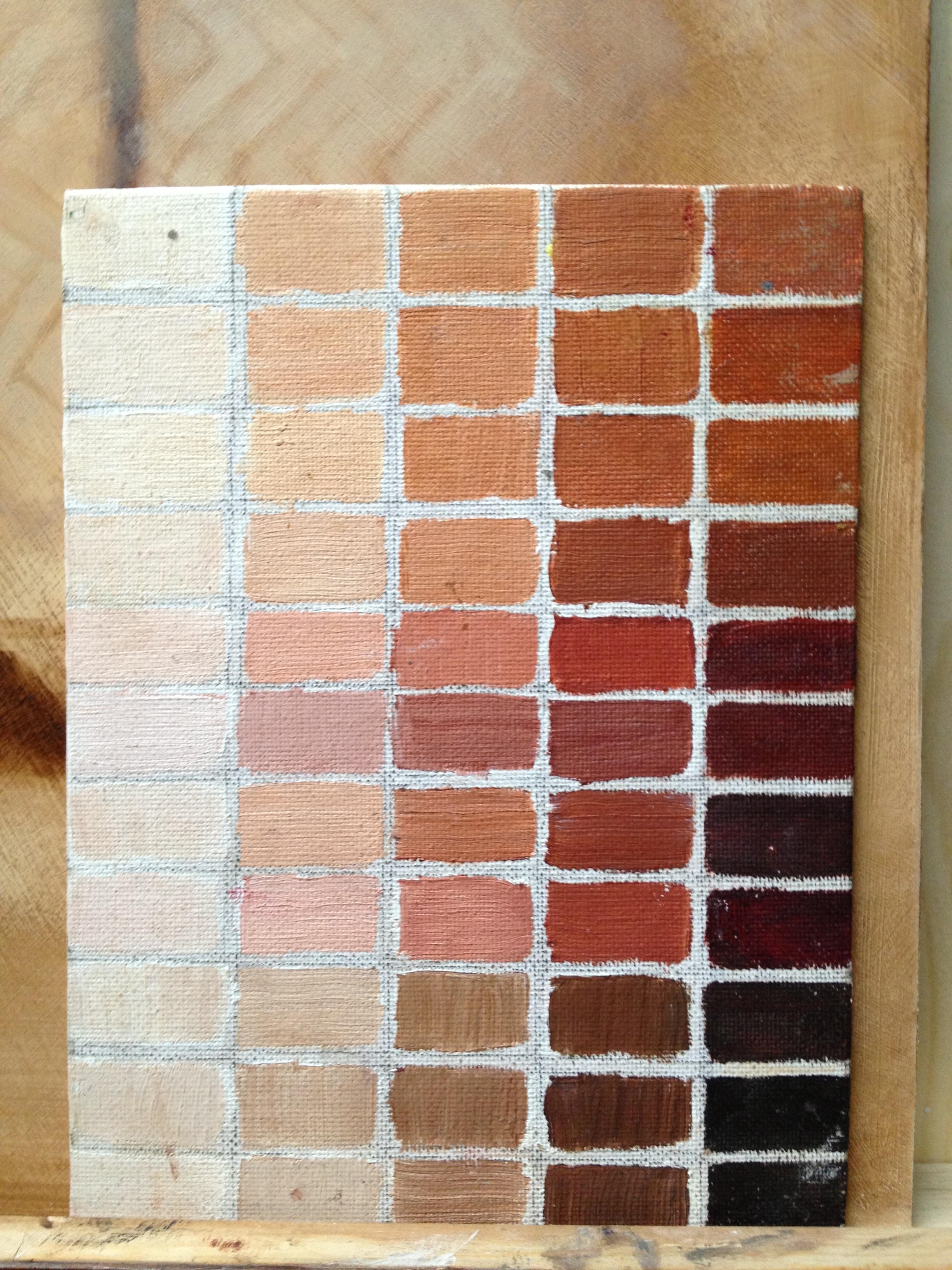 Oil Paint Skin Tones : paint, tones, Good', Winter, Blues…, Painter's, Studio