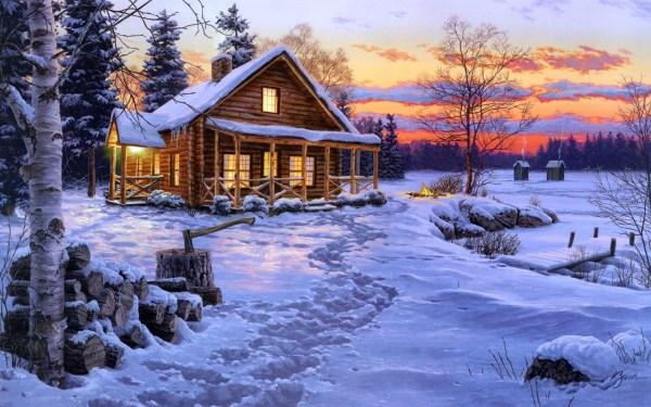 Oil Paintings Winter Snow Online