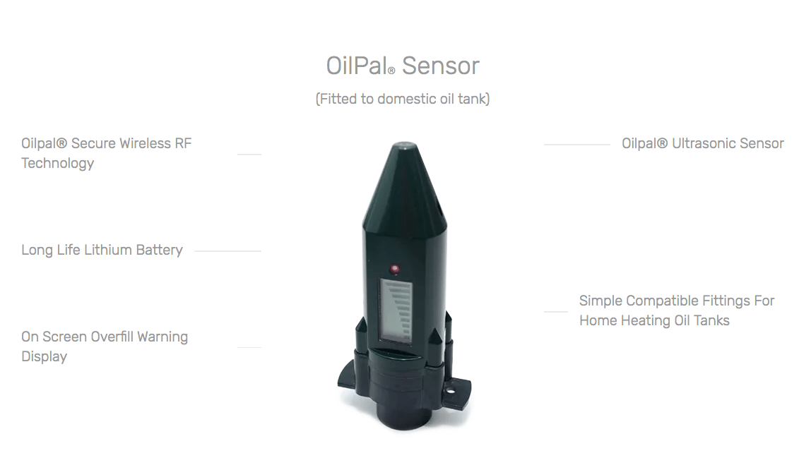 OilPal Ultrasonic Sensor Components