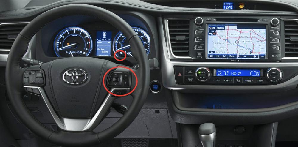 medium resolution of 2015 toyota highlander controls