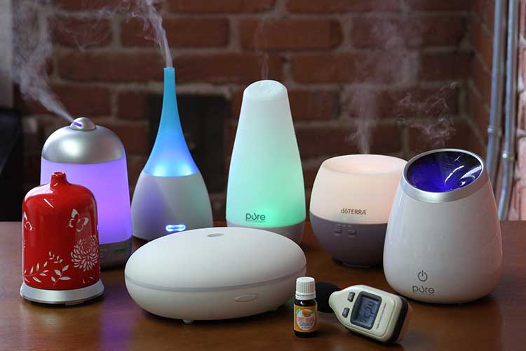 essential oils diffusers against viral infections