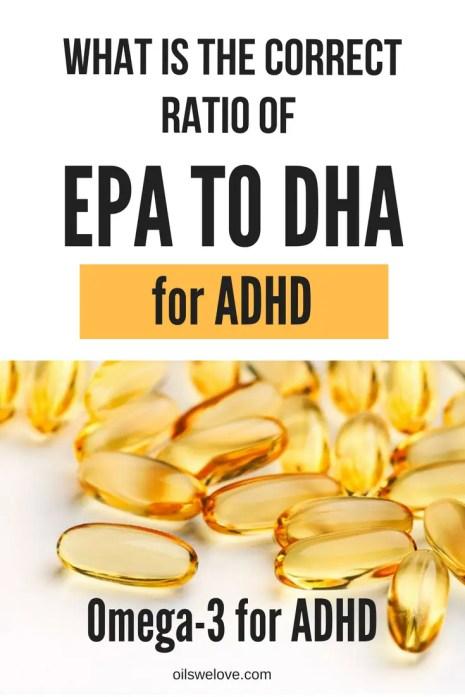 EPA DHA Ratio for ADHD