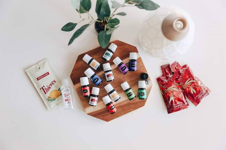 Try out Young Living essential oils with your own Premium Starter Kit!