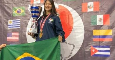 Lutadora da Seleção Brasileira, paraense conquista ouros internacionais de Karatê