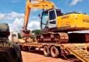 Em Novo Progresso, IBAMA realiza apreensão de equipamentos utilizados em garimpo