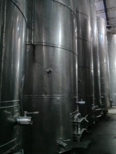 Inside the tank-hall