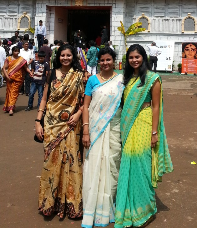 I too am guilty of joining the sari-brigade ;-)