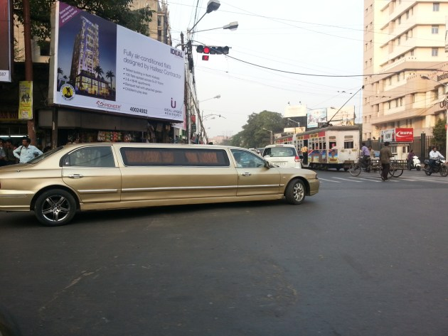 I dream of the day when commoners like me will be able to rent a stretch limo...