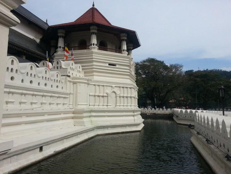 Sri Dalada Maligawa - a royal palace complex in Kandy