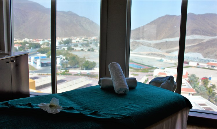 Massage for the body, mountains for the soul! ;-)