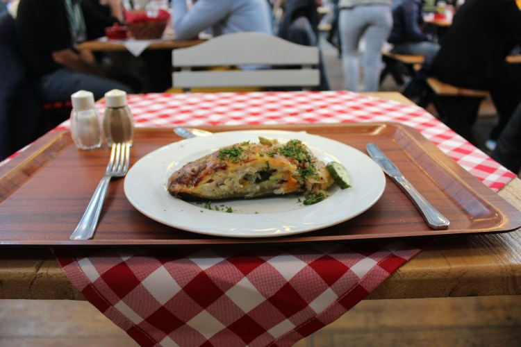 There is a kind of hunger that food cannot satisfy (my zucchini pocket in Budapest)