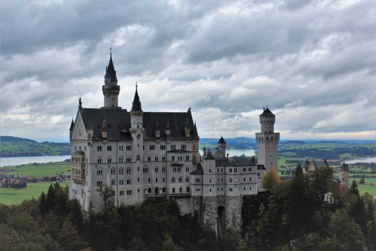 Life isn't always a fairytale (Neuschwanstein Castle in Germany)