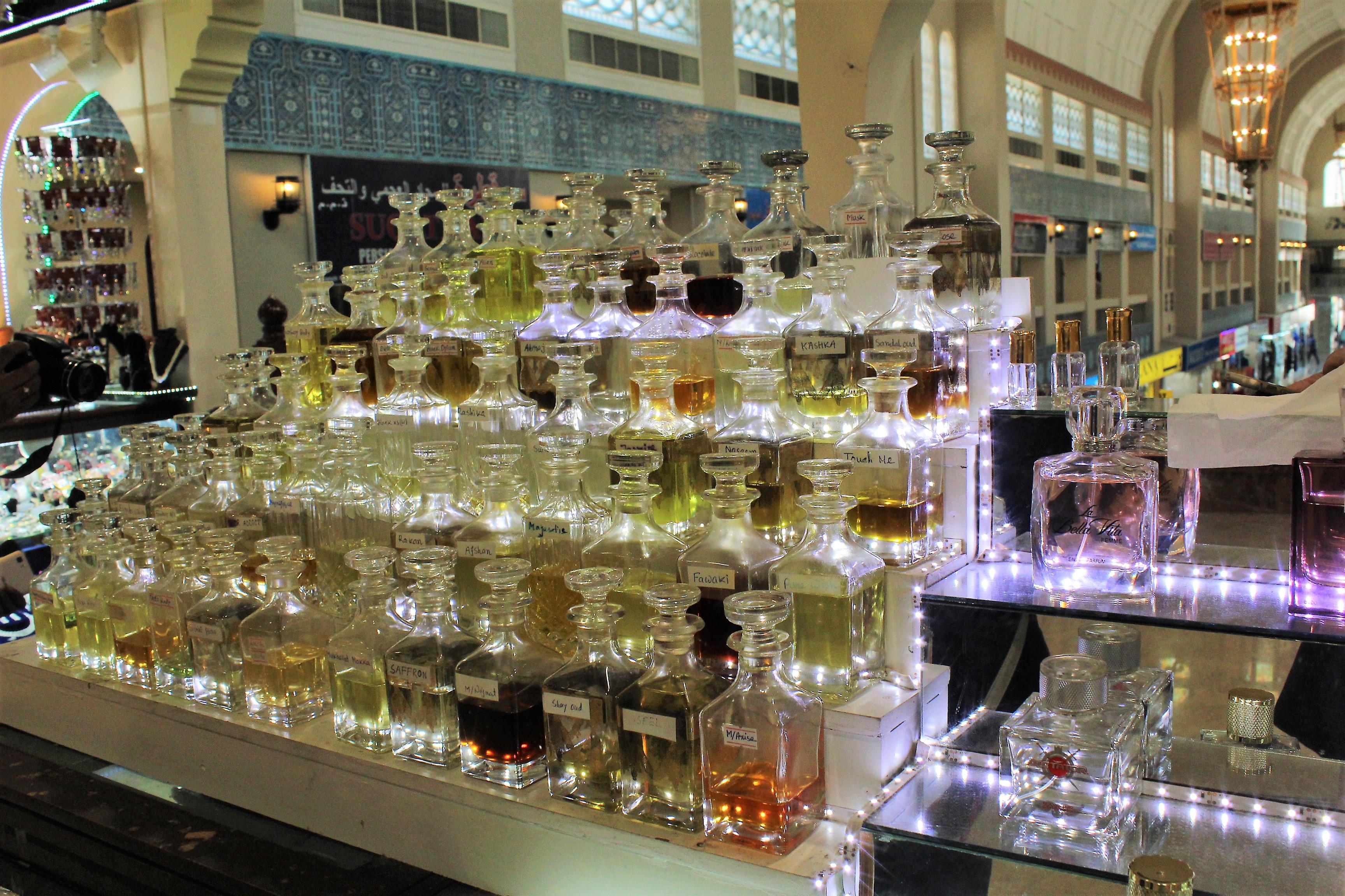 Ittar (oil based pefumes) of various notes