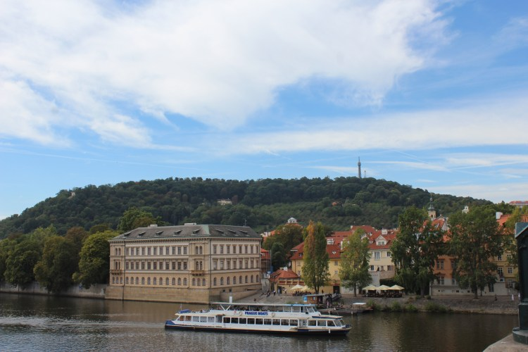 I cruised on the Vltava River in Prague without caring for the cost.