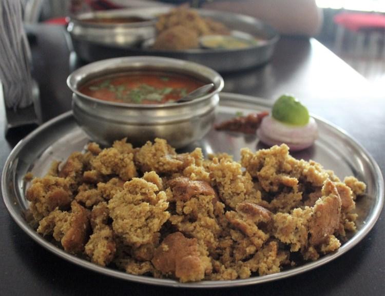 Dal-baati!!! My favourite Rajasthani dish!