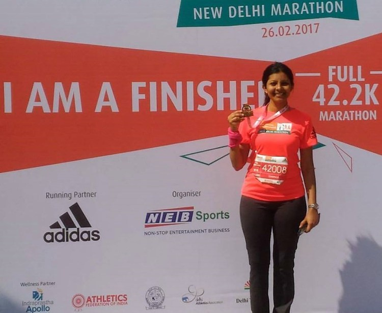 You too can run marathons if you practise regularly and have a balanced diet.