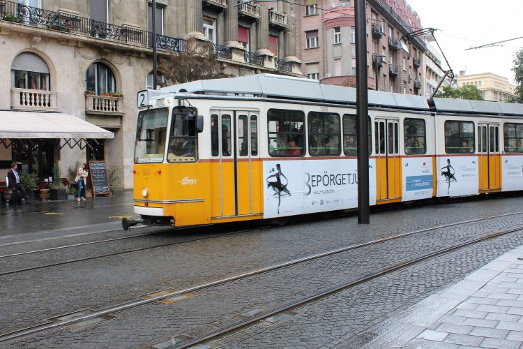 Trams connect most of Buda and Pest and even cross over the Danube!