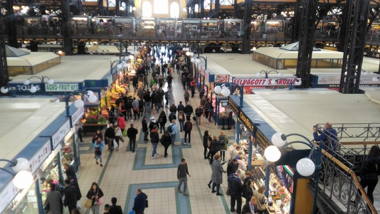 Central Market Hall - Budapest's grand marketplace for shopaholics and foodies