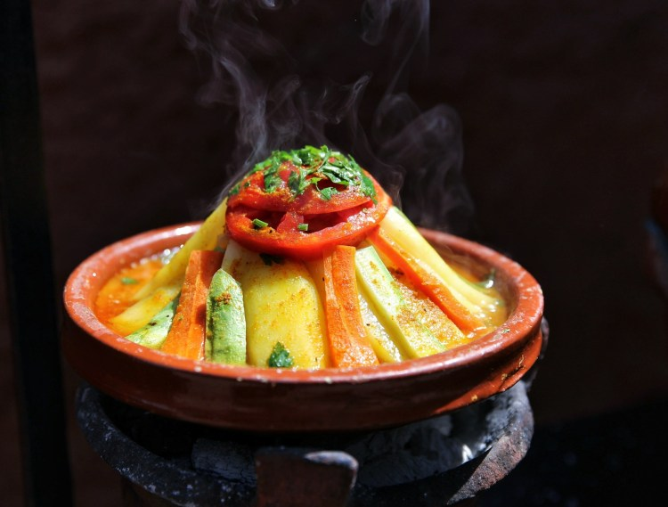 Moroccan tajine (Credit: Tajines by Franx' under CC)