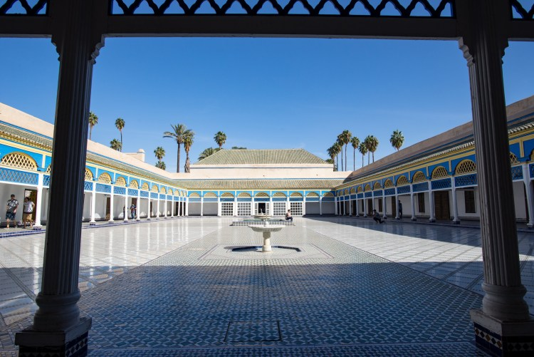 Bahia Palace, Marrakesh, Morocco by Cebanu Ghenadie (CC)