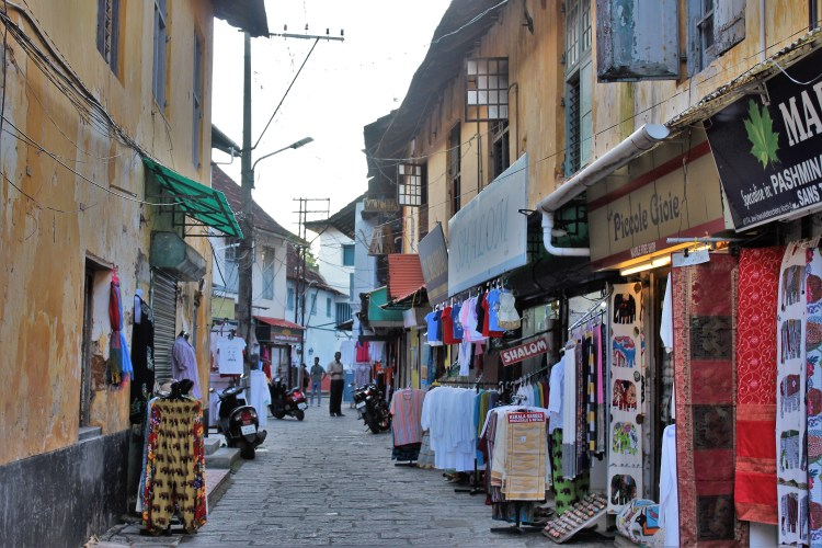 The busy marketplace of Jew Town