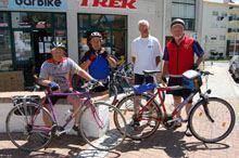 Viajar de França a Fátima em bicicleta         depois dos 65 anos